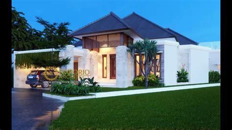 jasa arsitek desain rumah villa bali tropis bapak taufik