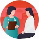 Patient Doctor Icon Dr Health Patients Consultation
