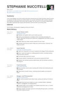 resume for college student applying for internship social media marketing resume sle free resumes tips