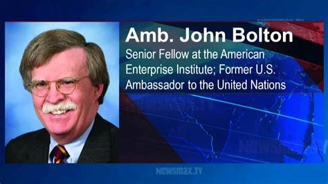 Amb. John Bolton Analyzes The Syrian Chemical Attack - YouTube