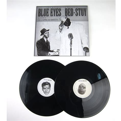 sinatra vs biggie blue eyes meets bed stuy vinyl 2lp