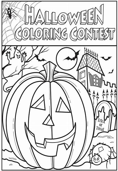 Coloring Halloween Contest Games Thepress Adult Contests