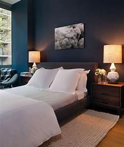 Chambre Bleu Nuit : chambre bleue tous nos conseils astuce pour une d co ~ Melissatoandfro.com Idées de Décoration