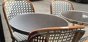 Mobilier De Terrasse : mobilier de terrasse paris bistro ~ Teatrodelosmanantiales.com Idées de Décoration