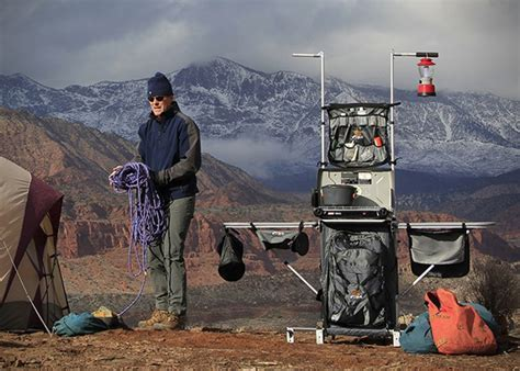 Grub Hub Portable Camp Kitchen   HiConsumption