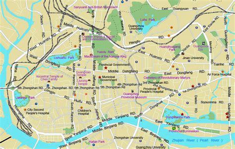 guangzhou travel mapsmaps  guangzhouguangzhou travel