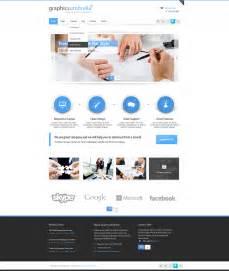 web design free psd corporate business web design template designscanyon