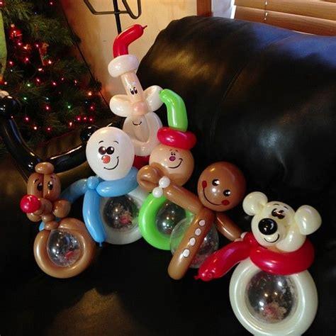 balloon twisting christmas