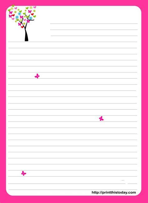 love letter template design kanza
