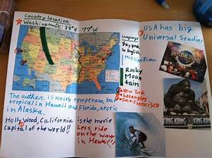 Elementary  Global Studies  Students Create Travel Brochures For Tourists Wishing To