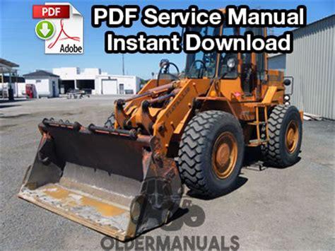 Fiat Allis Parts Dealers by Fiat Allis Fr10b Wheel Loader Service Manual