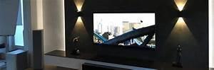 Die Wand Stream : tv wand mit medien low board audio team ~ Frokenaadalensverden.com Haus und Dekorationen