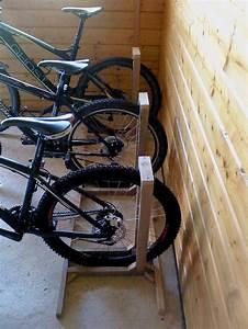 Fahrradständer Selber Bauen : foto fahrradst nder aus holz im 3er pack ~ One.caynefoto.club Haus und Dekorationen