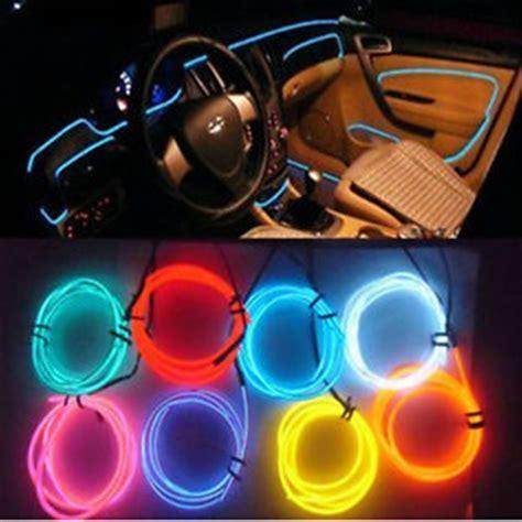 led interior car lights car interior decor 12v led l wire luminescent