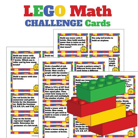 lego math challenge card sets homeschool