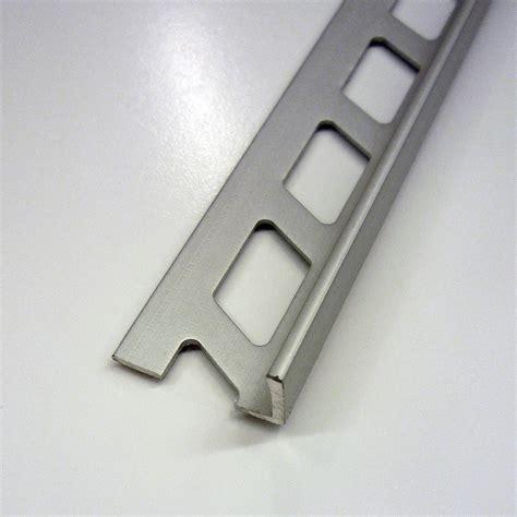 equerre de finition carrelage mur aluminium anodis 233 l 2 5 m x ep 10 mm leroy merlin