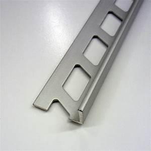 equerre de finition carrelage mur aluminium anodise l25 With carrelage adhesif salle de bain avec profil alu pour led