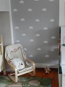 Kinderzimmer Rosa Grau : kinderzimmer ideen 1 wolkenwand tutorial plotter freebie mamahoch2 ~ Orissabook.com Haus und Dekorationen