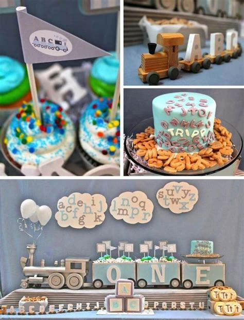 abc themed 1st birthday party spaceships and laser beams unique 1st birthday party themes for boys www pixshark