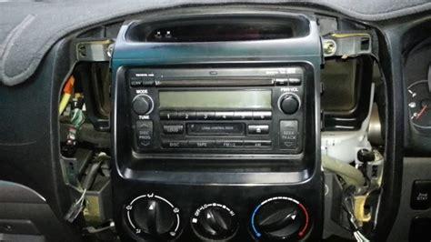 remove  radio   toyota prado youtube