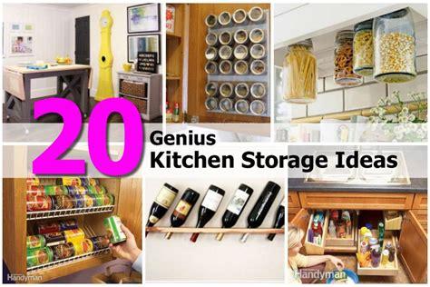 genius kitchen storage ideas