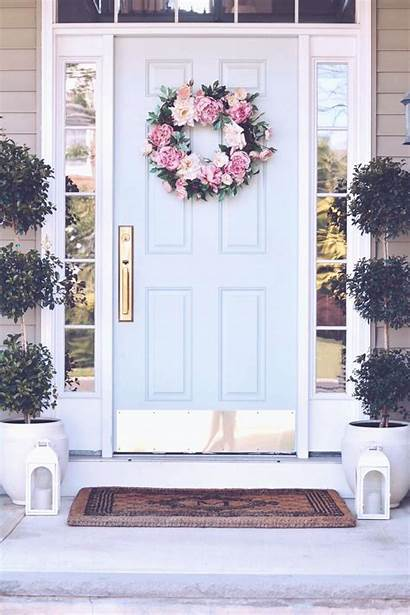 Porch Hydrangeas Endless Door Decorating Thepinkdream Colors