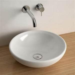 Vasque Ronde A Poser 30 Cm : comment choisir sa vasque de salle de bains en 10 points ~ Premium-room.com Idées de Décoration
