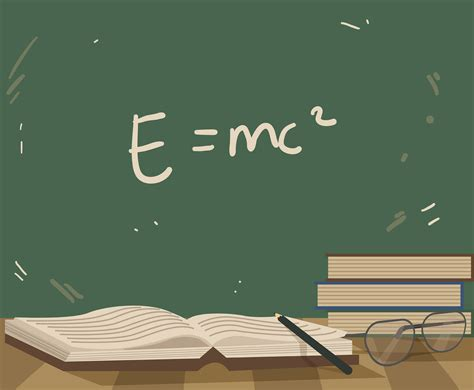 Education Background With Science Vector Vector Art