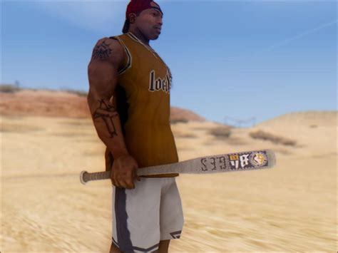Gta San Andreas Gta V Baseball Bat Mod