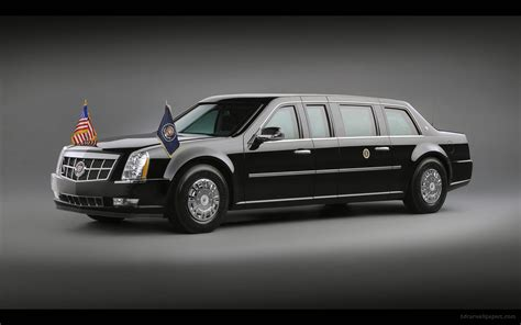2009 Cadillac Presidential Limousine Wallpaper  Hd Car