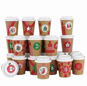 Adventskalender To Go Basteln : diy advent calendar coffee mug for diy crafts and fill with red ebay ~ Orissabook.com Haus und Dekorationen