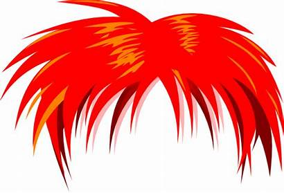 Hair Anime Funky Clip Clipart Vector Clker