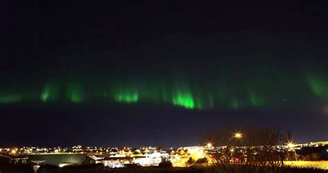 northern lights forecast reykjavik video a meteorite crashes the fantastic northern lights