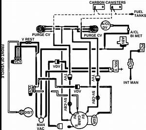 I Need The Schematics For Vacuum Hose Routing Of A 1985