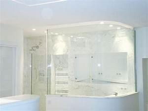 Cabine Douche 3 Parois Vitrées : parois de douche en verre servibat sp cialiste vitrage ~ Premium-room.com Idées de Décoration