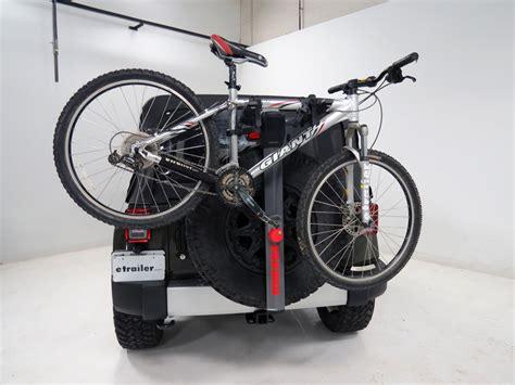 tire bike rack yakima spareride 2 bike rack spare tire mount folding