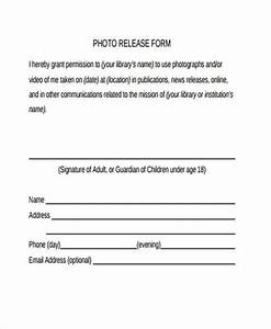 photo release form template template business With photography waiver and release form template