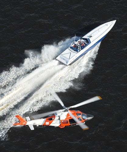 Miami Vice Boat Scene To Cuba by Naval Air Hunts Narco Subs