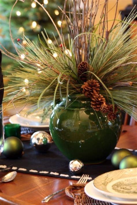 inspiring rustic christmas table settings digsdigs