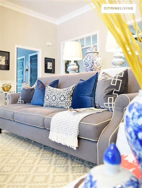 blue sofa pillows blue pillow living room images best site wiring harness