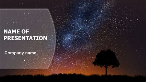 cosmic powerpoint template