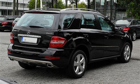 Contact your retailer for full details. Fichier:Mercedes-Benz ML 300 CDI BlueEFFICIENCY 4MATIC (W 164, Facelift) - Heckansicht, 17 ...