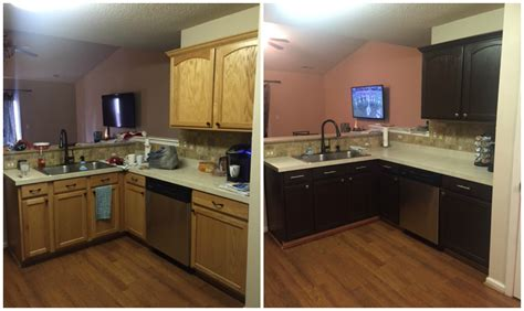 before and after photos of painted kitchen cabinets diy painting kitchen cabinets before and after pics 9888