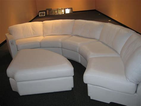 Ideas for Decorate with a Curved Sectional Sofa ? Cabinets