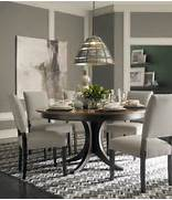 60 Round Pedestal Table By Bassett Furniture Contemporary Dining Room Modern Dining Room Round Table Royalty Free Stock Photography Modern Furniture Modern Dining Rooms Ideas 2011 Designers By HGTV Modern Round Dining Room Tables With Transitional Chandelier Dining