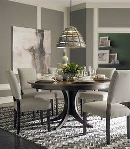 Custom Dining 60quot Round Pedestal Table By Bassett