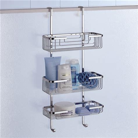 gedy triple hanging  shower door basket treble