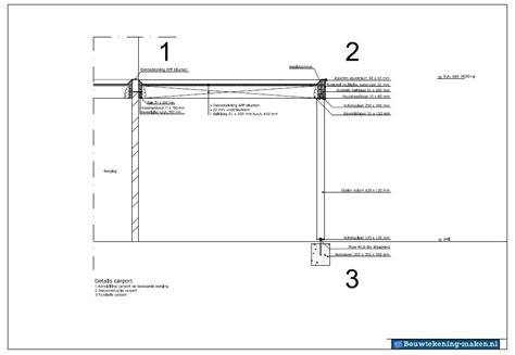 Voorbeeld Detailtekening Carport
