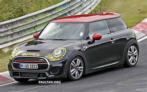 Mini Cooper S Jcw : spied f56 mini john cooper works facelift caught ~ Medecine-chirurgie-esthetiques.com Avis de Voitures