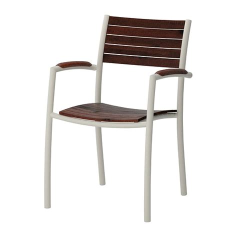 vindals 214 chair with armrests outdoor ikea